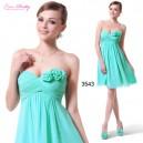 Svůdné společenské, letní krátké šaty s květinami Ever Pretty 3543 - 4 barvy