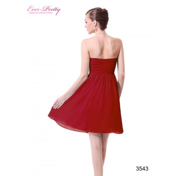 fef8ff77f ... Svůdné společenské, letní krátké šaty s květinami Ever Pretty 3543 - 4  barvy