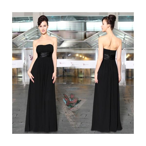 ... 3 barvy · Večerní společenské černé dámské šaty bez ramínek Ever Pretty  9955 ... c0762ff1016