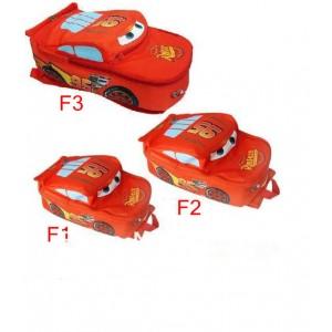 Dětský chlapecký batoh, batůžek ve tvaru auta CARS - 3 velikosti