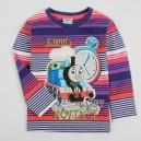 Dětské chlapecké tričko, triko s dlouhým rukávem mašinka Tomáš