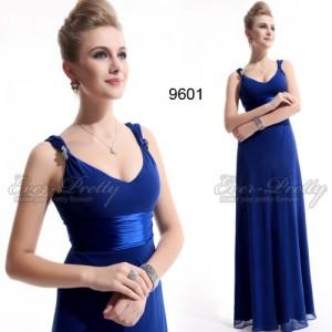Tajuplně modré společenské šaty Ever Pretty 09601