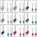 Dámský set - náhrdelník + náušnice Swarovski krystal G0800 - 9 barev