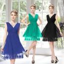 Dámské, koktejlové společenské šaty zdobené krajkou Ever Pretty 0279 - 4 barvy