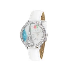 """Dámské módní hodinky s kamínky z polymeru """"Eiffel Tower"""""""