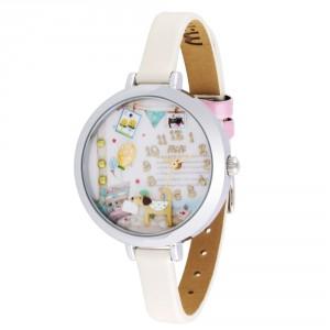"""Dámské módní hodinky s kamínky z polymeru """"pejsek"""""""