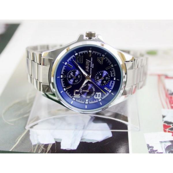 dc12d90a59 Pánské stylové sportovní kovové náramkové hodinky - 3 varianty ...