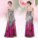 Letní společenské dámské šaty Ever Pretty na jedno rameno 8394