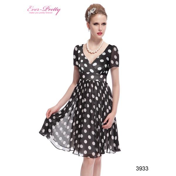 374783214b7 Dámské společenské šaty s puntíky Ever Pretty 3933 - Angel fashion