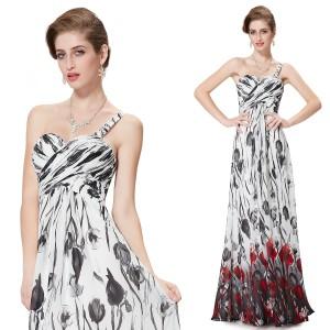 Letní společenské dámské šaty Ever Pretty na jedno rameno 8394 ... 8772769278