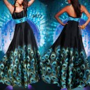 Smyslné černé společenské šaty Ever Pretty 09328