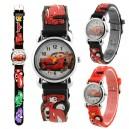 Dětské, chlapecké, silikonové hodinky auta Cars - 3 barvy
