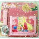 Dětské, dívčí hodinky Barbie + peněženka TIP na dárek