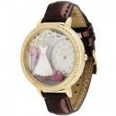 """Dámské módní hodinky s kamínky z polymeru """"Romantic"""""""