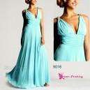 Nebesky jemné společenské šaty Ever Pretty 9016 - 15 barev