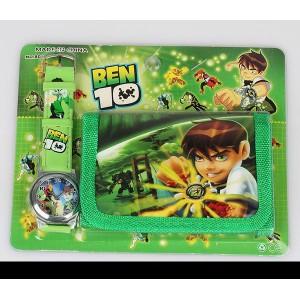Dětské, chlapecké hodinky Ben 10 + peněženka TIP na dárek