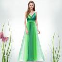 Sexy pruhované dámské společenské, letní šaty 9735