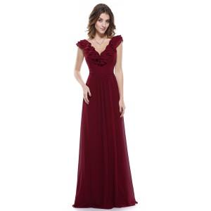 Úžasné dámské šaty s volánky ve výstřihu 8500 - 4 barvy
