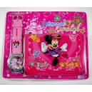 Dětské, dívčí hodinky Minnie Mouse + peněženka TIP na dárek