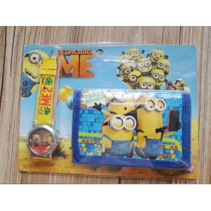 Dětské, chlapecké hodinky Mimoňové + peněženka TIP na dárek
