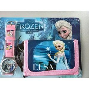 Dětské, dívčí hodinky Frozen Elsa a Anna + peněženka TIP na dárek