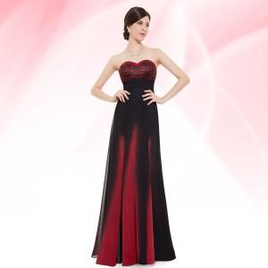 Luxusní společenské korzetové dámské šaty 8070 - červené