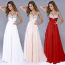 Dámské společenské, večerní, dlouhé šaty - 3 barvy