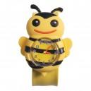 Dětské silikonové, navíjecí SLAP hodinky - včelka žlutá