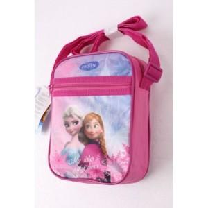 Dětská, dívčí taška přes rameno Frozen - sytě růžová