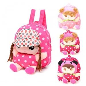 Dětský baťoh, batůžek 3D s panenkou - 4 varianty