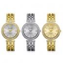 Luxusní, elegantní dámské hodinky s krystaly