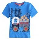 Dětské chlapecké tričko, triko s krátkým rukávem s náklaďákem
