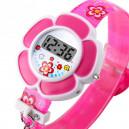 Dětské, dívčí digitální hodinky květina