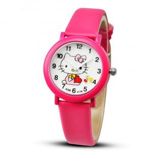 Dětské, dívčí hodinky Hello Kitty - růžové, žluté