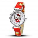 Dětské, dívčí hodinky Hello Kitty - růžové, červené