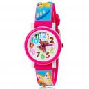Dětské, dívčí, silikonové hodinky 3D s motýlky, voděodolné