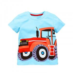 Dětské chlapecké tričko, triko s dlouhým rukávem s krátkým