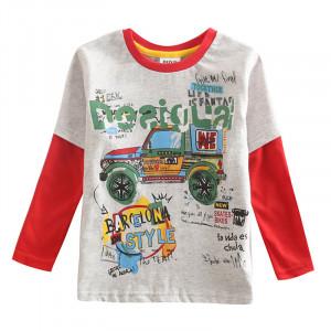 Dětské chlapecké tričko, triko s dlouhým rukávem