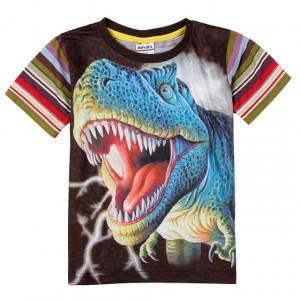 Dětské chlapecké tričko, triko s krátkým rukávem dinosaurus REX