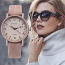 Dámské elegantní hodinky starorůžové