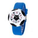 Dětské, chlapecké silikonové hodinky 3D fotbalový míč