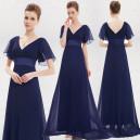 Okouzlující společenské, dlouhé dámské šaty s rukávky - 10 barev