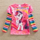 Dětské, dívčí tričko jemně růžové My little Pony