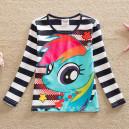 Dětské, dívčí tričko navy proužkové My little Pony