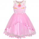 Dětské, dívčí společenské šaty - jednorožec unicorn - 4 barvy