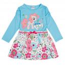 Dětské dívčí šaty, tunika s dlouhým rukávem modrá My Little Ponymi