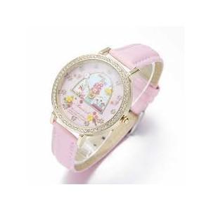 Dámské, dívčí kožené 3D hodinky -  králíček