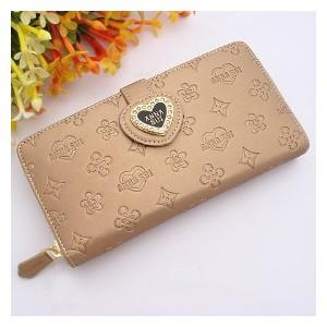 Dámská peněženka Anna Sui - zlatá srdce B