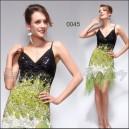 Úchvatné volánkové společenské šaty Ever Pretty 0045 - zelené