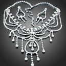 Luxusní set - náhrdelník + náušnice Swarovski krystal  G0416